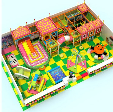 开儿童室内游乐场赚钱吗?开心哈乐儿童乐园