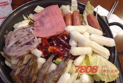 韩国年糕火锅,火锅加盟,年糕火锅
