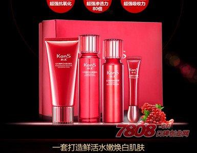 韩束加盟,化妆品网店代理,化妆品加盟