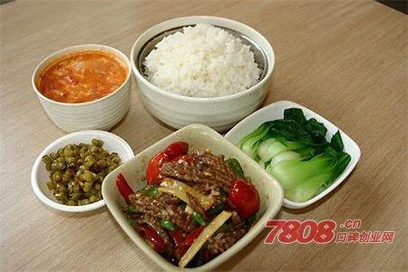 中式快餐店加盟选择哪家好图片