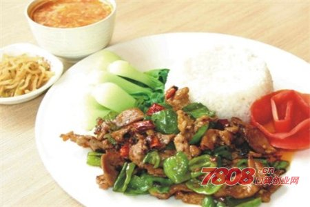 龙湖人家中式快餐加盟费多少钱