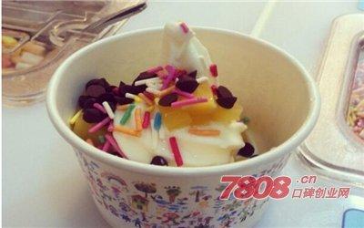 开家酸奶冰淇淋加盟店怎么样