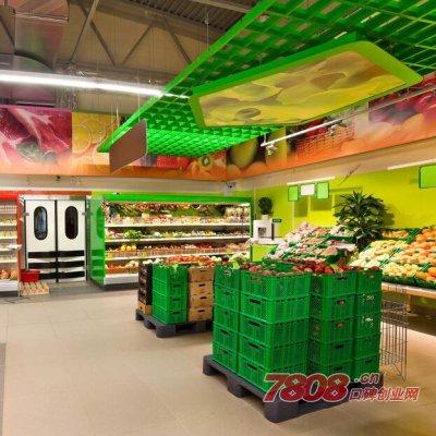 在乡镇上开大超市赚钱吗