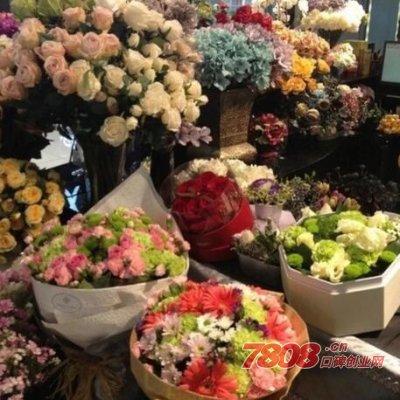 七夕在街上卖花能赚多少钱?