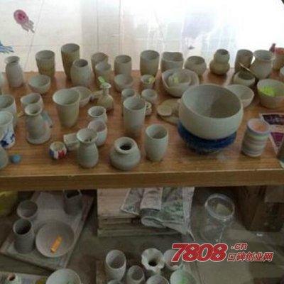 开个陶艺吧需要多少钱