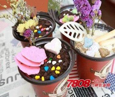 加盟艺莎盆栽冰淇淋生意怎么样,艺莎盆栽冰淇淋