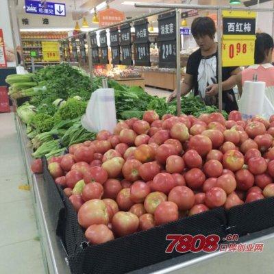 开家蔬菜小超市要多少钱,利润有多大
