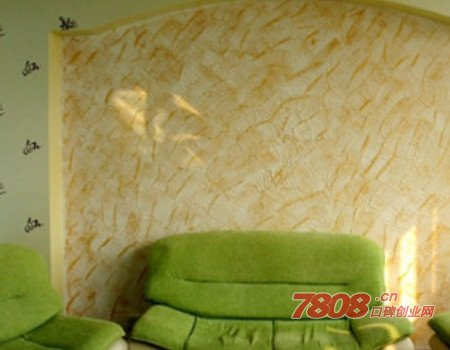 图乐斯液态艺术墙衣无毒环保