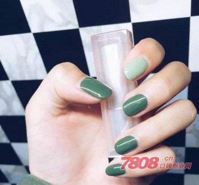 亚洲女孩如何驾驭绿色指彩?从5种美甲样式下手