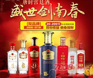 剑南春白酒加盟条件
